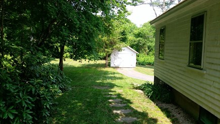 Brewster Cape Cod vacation rental - Side and back yard