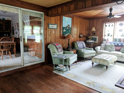 Harwich Cape Cod vacation rental - Large sunny family room