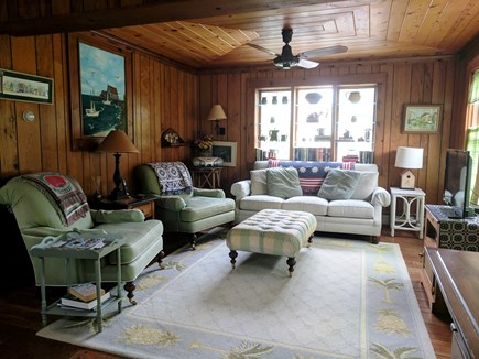 Harwich Cape Cod vacation rental - Family room off kitchen