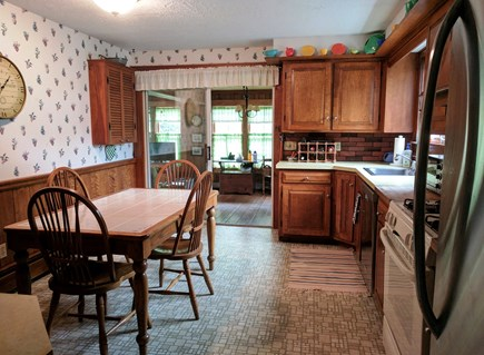 Harwich Cape Cod vacation rental - Eat in kitchen