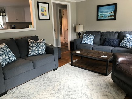 South Dennis Cape Cod vacation rental - Plenty of seating, queen sleep sofa