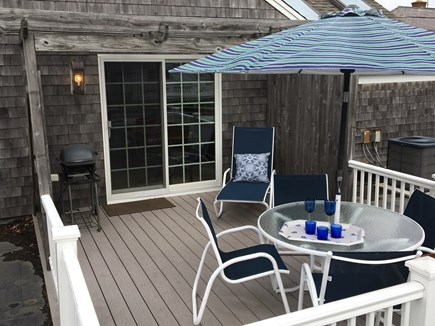 Chatham Cape Cod vacation rental - Rooftop deck off dining room