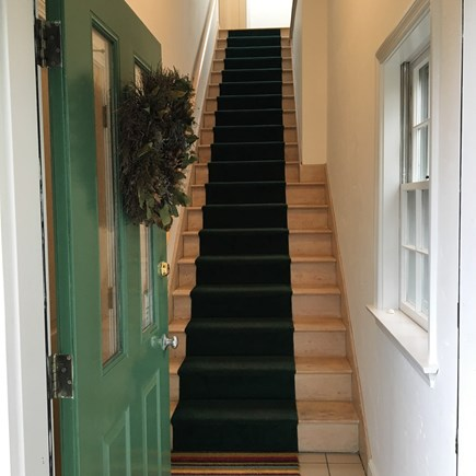 Chatham Cape Cod vacation rental - Stairway to 2nd floor condo