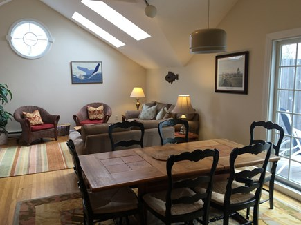 Chatham Cape Cod vacation rental - Dining and living room