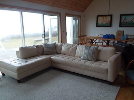 Dennis Cape Cod vacation rental - Bright big living room