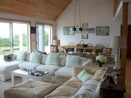 Dennis Cape Cod vacation rental - Lots of comfortable seating and dinng