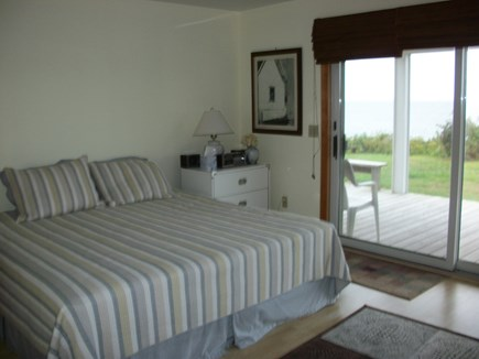 Dennis Cape Cod vacation rental - Master bedroom on the first floor with private bath and deck