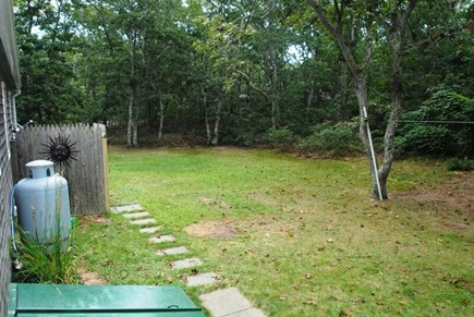 Eastham Cape Cod vacation rental - Back Yard and Shower