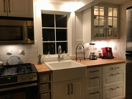 Harwichport, just across from  Cape Cod vacation rental - Second kitchen, the main house. Great for caterers convenience.