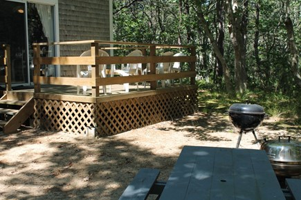 Wellfleet Cape Cod vacation rental - Relax and enjoy the outside beauty on the Deck.