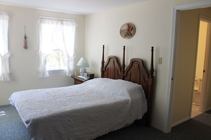Wellfleet Cape Cod vacation rental - Upstairs Master Bedroom number two with double bed.