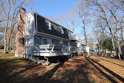 Mashpee Cape Cod vacation rental - Back of the house