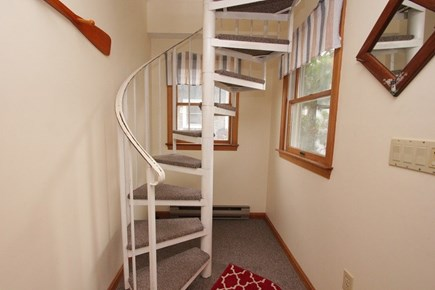 Sandwich Cape Cod vacation rental - Stairs to Second Level