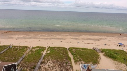 Sandwich Cape Cod vacation rental - Aerial View of Private Beach