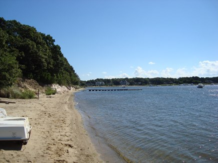 Falmouth Cape Cod vacation rental - Our little neighborhood beach on Great Pond, lunch or launch