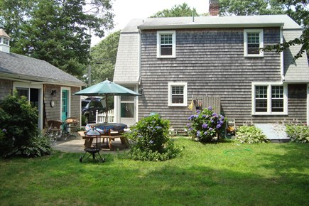 Falmouth Cape Cod vacation rental - Private back yard
