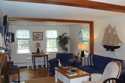 Falmouth Cape Cod vacation rental - Living room, plenty of space
