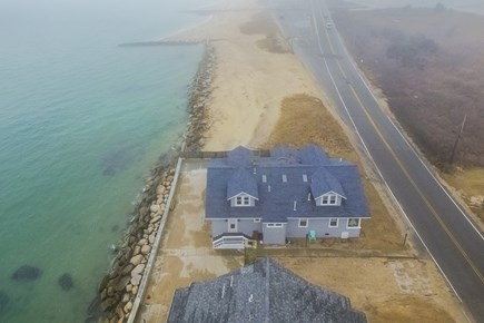 Falmouth Cape Cod vacation rental - Drone view