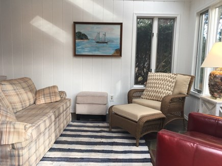 West Harwich Cape Cod vacation rental - TV Room with 40 inch TV
