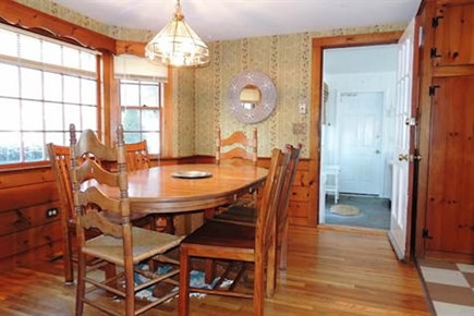West Harwich Cape Cod vacation rental - Dining Room with a Bay Window