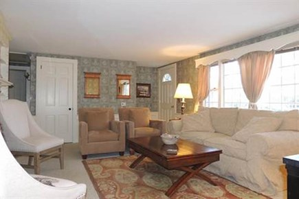West Harwich Cape Cod vacation rental - Comfortable living room with pull-out sofa