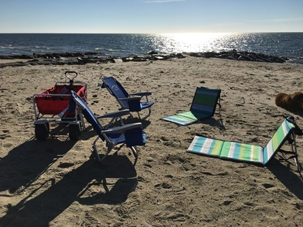 West Harwich Cape Cod vacation rental - Relax in the warmth at Belmont beach