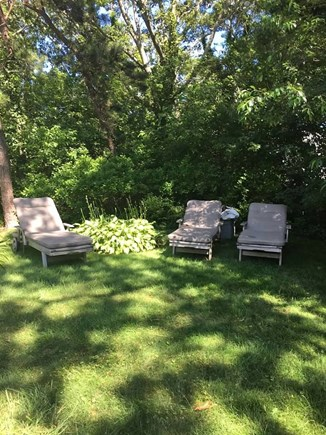 West Harwich Cape Cod vacation rental - Relax in the shade. Read a nice book.
