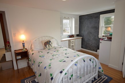 Orleans Cape Cod vacation rental - Full bedroom with chalkboard wall