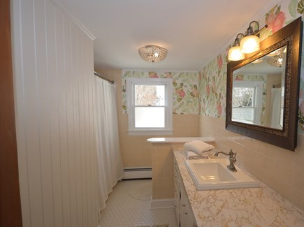 Orleans Cape Cod vacation rental - 3rd bath with tub/ shower combo