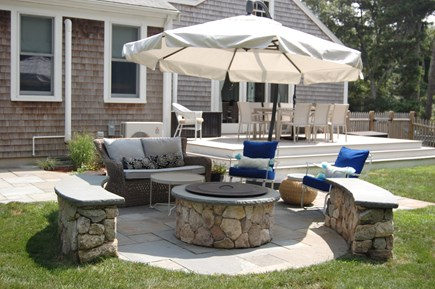 Orleans Cape Cod vacation rental - Outdoor lounge area with fire pit