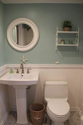 Falmouth Cape Cod vacation rental - Bathroom (full tub/shower not pictured)