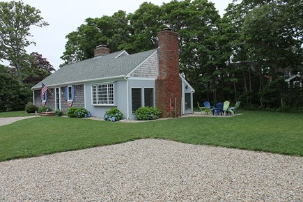 Falmouth Cape Cod vacation rental - Outside, full property and side yard