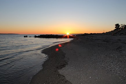 Falmouth Cape Cod vacation rental - Private beach 2-3min walk down to end of the street