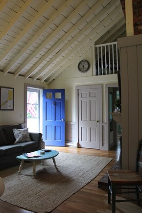 Falmouth Cape Cod vacation rental - Entry/living room