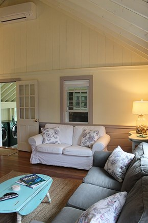 Falmouth Cape Cod vacation rental - Living room, entry to porch area