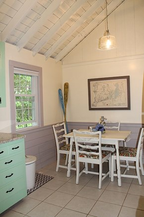 Falmouth Cape Cod vacation rental - Kitchen eating area