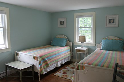 Falmouth Cape Cod vacation rental - Bedroom 1 with twin beds