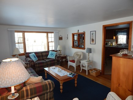 Falmouth Cape Cod vacation rental - Spacious Living Room