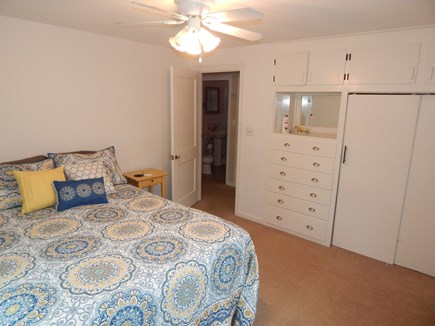 Falmouth Cape Cod vacation rental - Master bedroom with a Queen and built ins