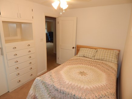 Falmouth Cape Cod vacation rental - Double bed with built ins