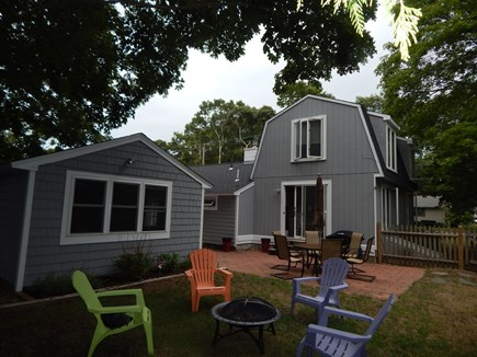 Falmouth Cape Cod vacation rental - Relax by the firepit
