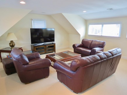 Chatham Cape Cod vacation rental - The bonus room features comfortable seating and big flattie