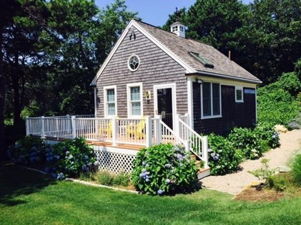 Chatham Cape Cod vacation rental - Neat-as-a-pin guest house just across the yard