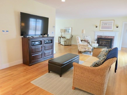 Chatham Cape Cod vacation rental - TV lounge off the kitchen