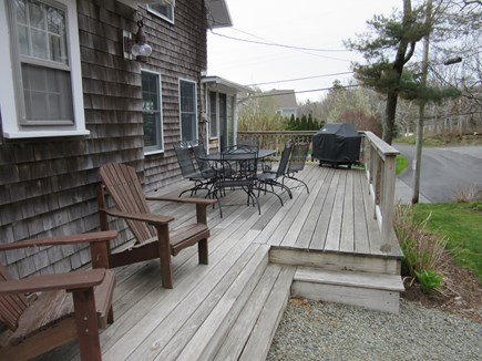 Sagamore Beach Sagamore Beach vacation rental - Back deck with grill