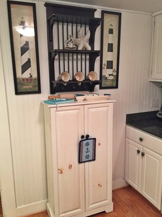 Harwichport Cape Cod vacation rental - Kitchen pantry