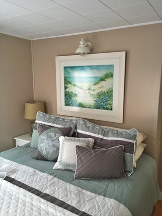 Harwichport Cape Cod vacation rental - First floor bedroom with queen bed