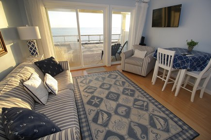 Truro Cape Cod vacation rental - Living Room with a view that won't quit