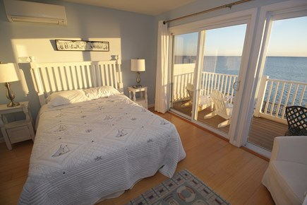 Truro Cape Cod vacation rental - Wood floors, coastal theme and comfy furnishings