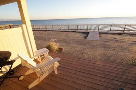 Truro Cape Cod vacation rental - Sit on the deck or stroll down to the private beach